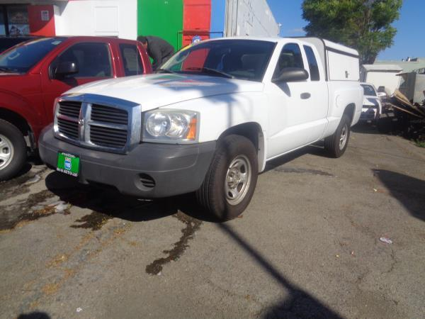 2007 DODGE DAKOTA white 11805 miles Stock 1121 VIN 1D7HE22K07S241124