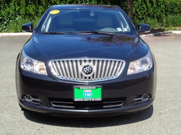 2010 BUICK LACROSSE blackblack automatic acabs alloy wheelsamfm stereocd playercruise co
