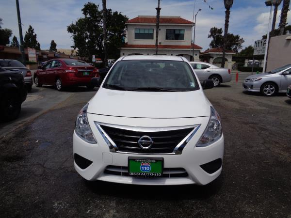 2015 NISSAN VERSA whiteblack acabs alloy wheelscd playertilt 38302 miles Stock 2044 VI