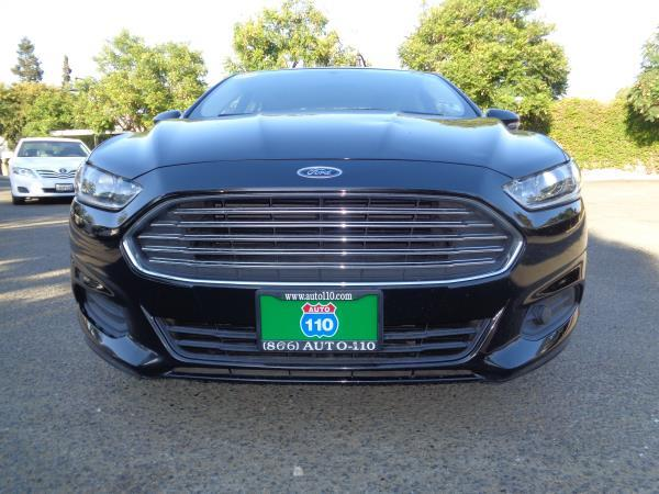 2013 FORD FUSION black automatic acabs alloy wheelsamfm stereocd playercruise controlmp3
