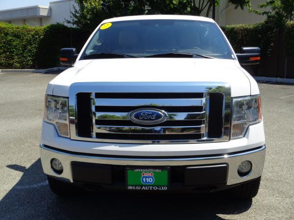 2009 FORD F-150 white automatic 4x4acabs alloy wheelsamfm stereocd playerplockpwindow