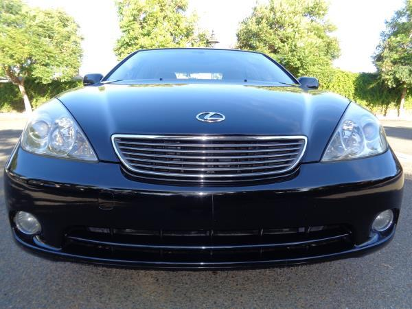 2005 LEXUS ES 330 blacktan automatic acabs alloy wheelsamfm stereocd playercruise contro