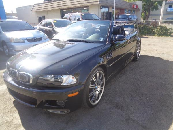 2005 BMW M3 blackblack 6 speed automatic acabs amfm stereocd playerconvertiblecruise con