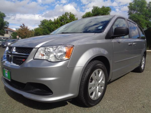 2015 DODGE GRAND CARAVAN silver 5 speed automatic 72021 miles Stock 2212 VIN 2C4RDGBG1FR6412