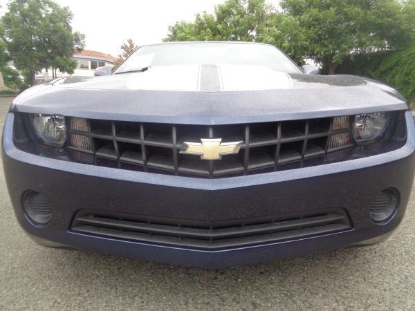 2012 CHEVROLET CAMARO blueblack 6 speed automatic 38446 miles Stock 2213 VIN 2G1FA1E31C9155