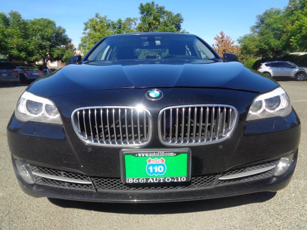 2012 BMW 5 SERIES blackblack 6 speed automatic 101490 miles Stock 2216 VIN WBAXG5C57CDW2417