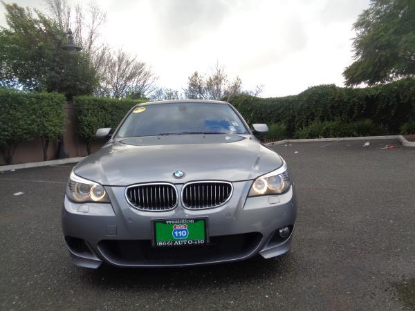 2008 BMW 5 SERIES grayblack 6 speed automatic 111596 miles Stock 2219 VIN WBANW53518CT52438