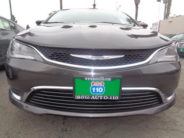 2015 CHRYSLER 200 grayblack 5 speed automatic 37466 miles Stock 2232 VIN 1C3CCCAB8FN558636