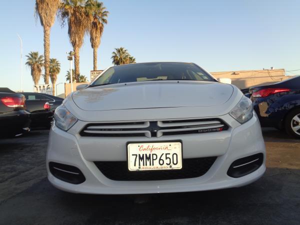 2015 DODGE DART white auto 49390 miles Stock 2252 VIN 1C3CDFAA3FD435922