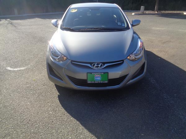 2016 HYUNDAI ELANTRA gray auto 14586 miles Stock 2254 VIN KMHDH4AE7GU532615