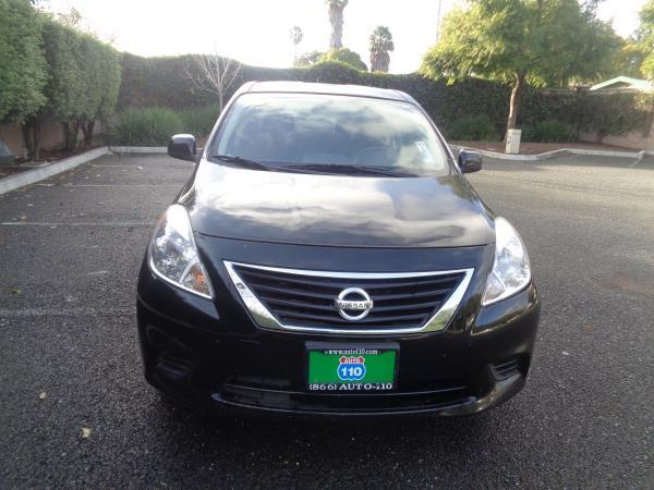 2014 NISSAN VERSA black auto 100850 miles Stock 2256 VIN 3N1CN7AP0EL827545