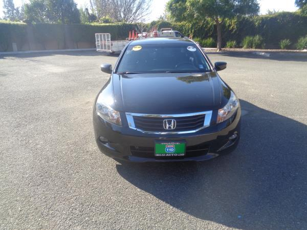 2010 HONDA ACCORD black 5 speed automatic 64094 miles Stock 2257 VIN 1HGCP3F76AA009409