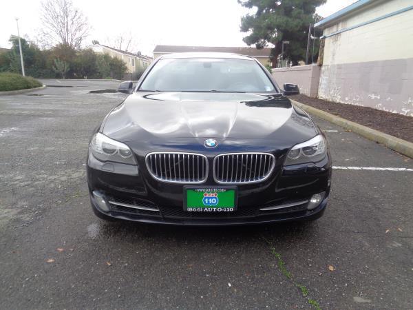 2012 BMW 5 SERIES blackblack auto 105338 miles Stock 2260 VIN WBAXG5C57CDW24175