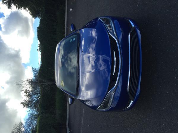2016 CHRYSLER 200 blue auto 15891 miles Stock 2262 VIN 1C3CCCAB6GN169446