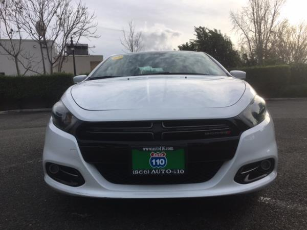 2014 DODGE DART white auto 36575 miles Stock 2264 VIN 1C3CDFEB5ED672851