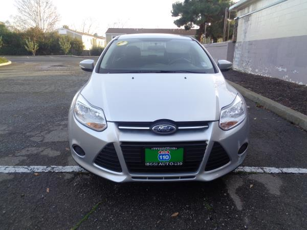 2013 FORD FOCUS silvergray auto 79172 miles Stock 2268 VIN 1FADP3F21DL337648