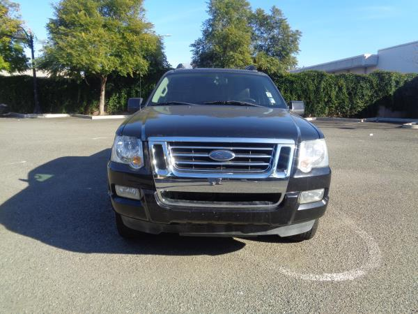 2007 FORD EXPLORER SPORT TRAC black 4 speed automatic acalloy wheelsamfm stereocd playercr