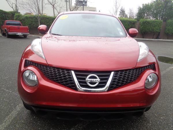 2012 NISSAN JUKE SV red auto acmoon roofnavigationsun roof 62780 miles Stock 2276 VIN