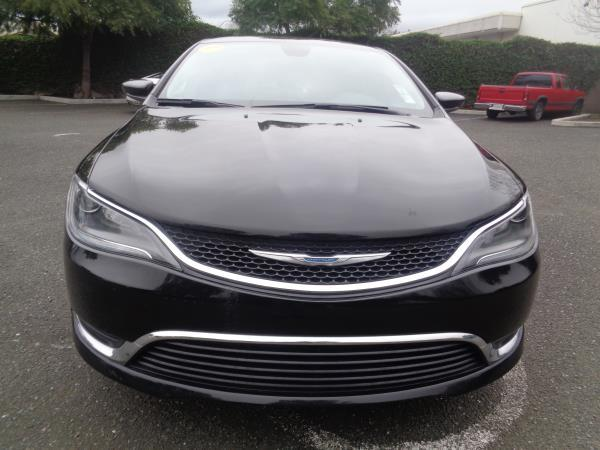 2015 CHRYSLER 200 black 4 speed automaticoverdrive 39043 miles Stock 2283 VIN 1C3CCCAB3FN72