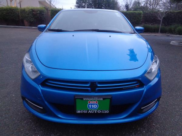 2015 DODGE DART blue 4 speed automatic 33468 miles Stock 2284 VIN 1C3CDFAA3FD200565