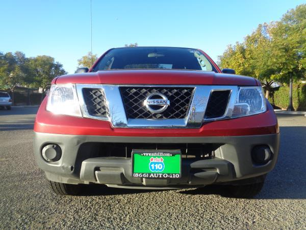 2014 NISSAN FRONTIER red automatic power steeringrear windowssingle cdtilttilt wheel 57671