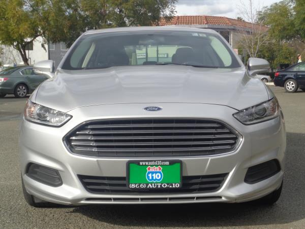 2016 FORD FUSION silver automatic acabs alloy wheelsamfm stereocd playercruise controldu