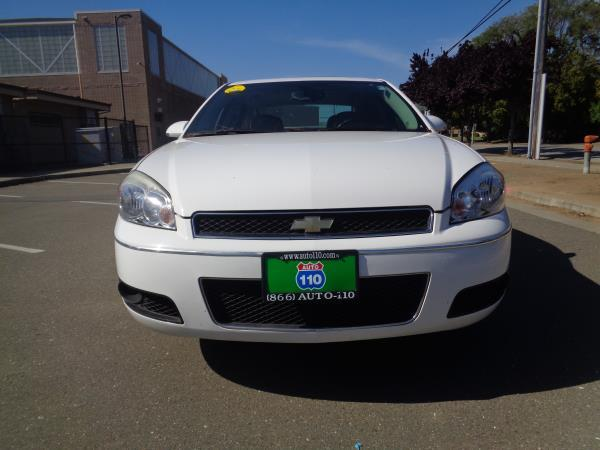2012 CHEVROLET IMPALA white automatic 104333 miles Stock 2304 VIN 2G1WC5E37C1136791