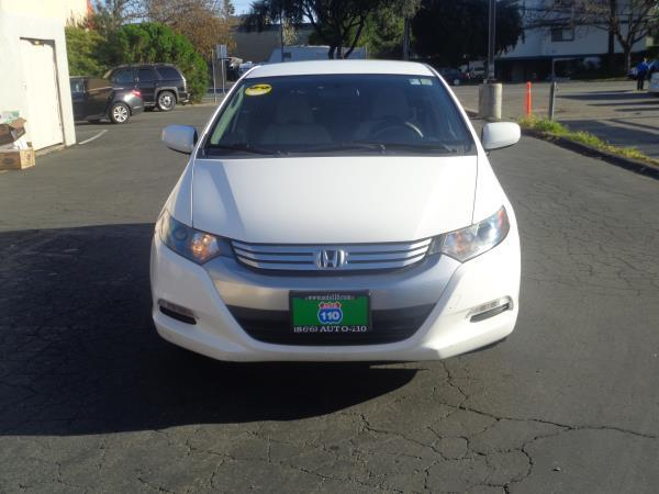 2011 HONDA INSIGHT white cvt 125200 miles Stock 2310 VIN JHMZE2H36BS007804