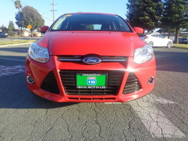 2012 FORD FOCUS red automatic 47573 miles Stock 2315 VIN 1FAHP3K22CL422889