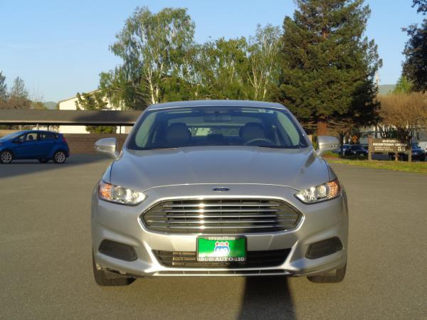 2013 FORD FUSION silverblack 6 speed automatic 68626 miles Stock 2322 VIN 3FA6P0H79DR135139