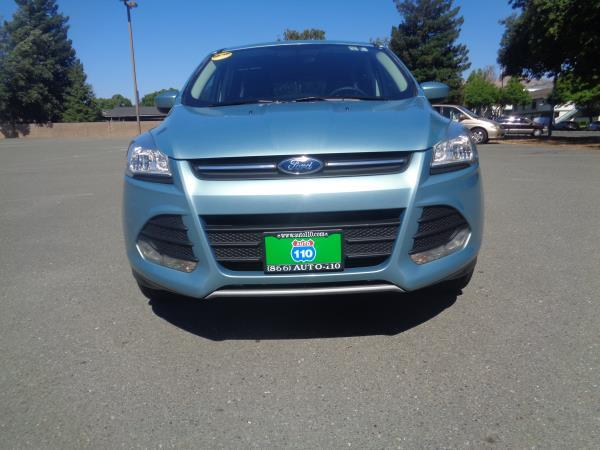 2013 FORD ESCAPE green automatic 30703 miles Stock 2342 VIN 1FMCU0GX2DUD70204