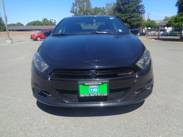 2015 DODGE DART black automatic 42793 miles Stock 2350 VIN 1C3CDFBB3FD159636