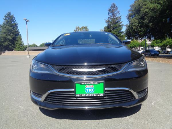 2016 CHRYSLER 200 black 35899 miles Stock 2358 VIN 1C3CCCAB2GN105176