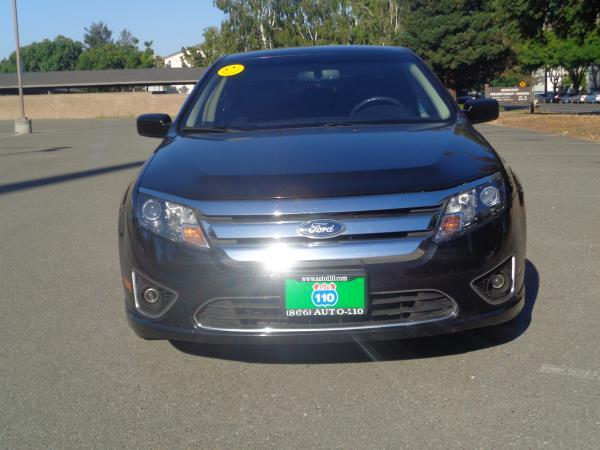 2011 FORD FUSION blackblack 5 speed automatic 114007 miles Stock 2363 VIN 3FAHP0JG1BR122711