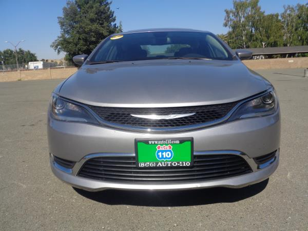 2015 CHRYSLER 200 black 6 speed automatic 40860 miles Stock 2367 VIN 1C3CCCABXFN621462