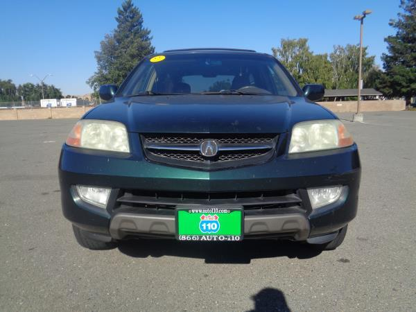2001 ACURA MDX green 5 speed automatic 243816 miles Stock 2368 VIN 2HNYD18861H521948