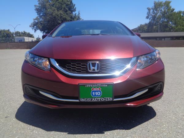 2015 HONDA CIVIC burgundyblack 5 speed automatic 30728 miles Stock 2369 VIN 2HGFB2F59FH5394