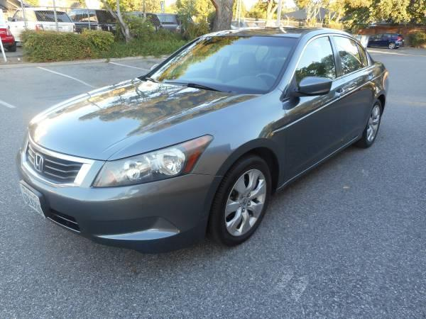 2008 HONDA ACCORD charcoal graygary 5 speed automatic 105900 miles Stock 2374 VIN JHMCP267X