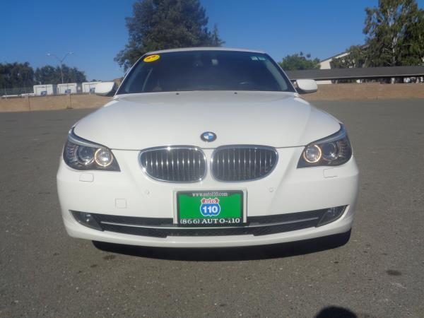 2009 BMW 5 SERIES white automatic 89605 miles Stock 2379 VIN WBANW13539C161534
