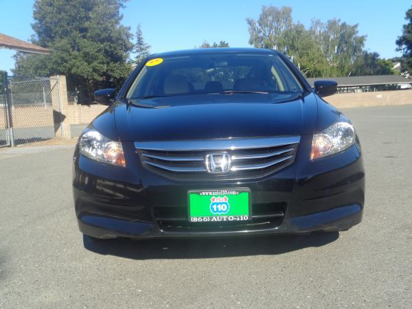 2012 HONDA ACCORD blackblack 5 speed automatic 74655 miles Stock 2381 VIN 1HGCP2F37CA001829