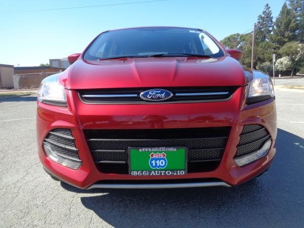 2015 FORD ESCAPE red manual 68850 miles Stock 2385 VIN 1FMCU0GX4FUA46044
