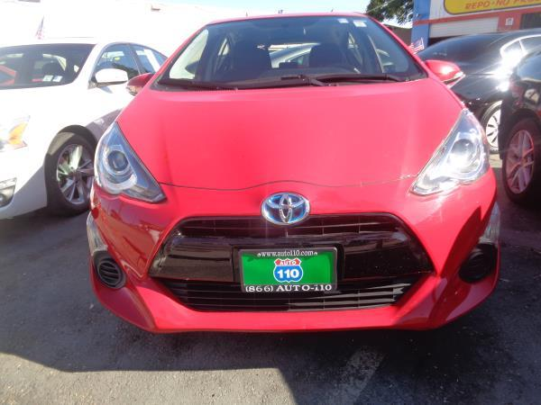 2015 TOYOTA PRIUS C red automatic 61175 miles Stock 2386 VIN JTDKDTB34F1095414