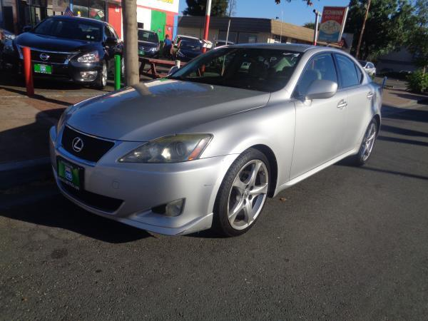2007 LEXUS IS 250 sliver automatic 153517 miles Stock 2388 VIN JTHBK262X72029770