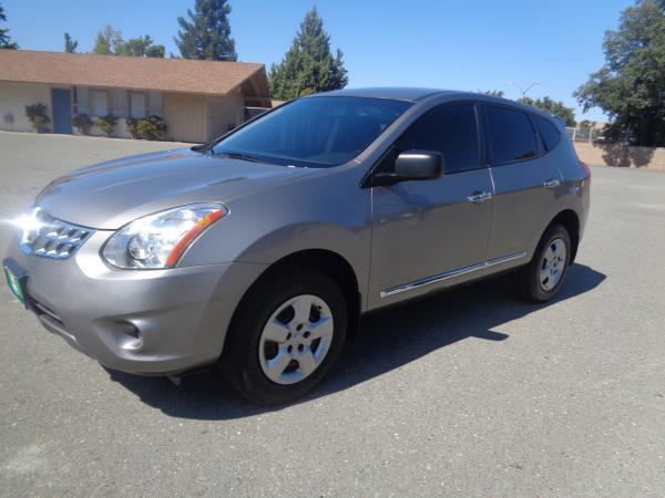 2013 NISSAN ROGUE grayblack automatic 81277 miles Stock 2401 VIN JN8AS5MT9DW515876