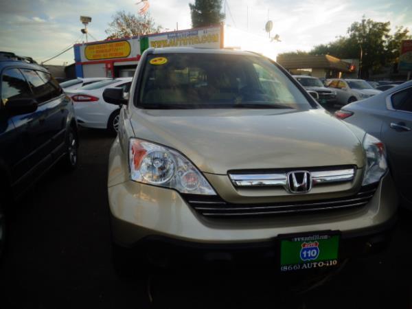 2009 HONDA CR-V goldtan 5 speed automatic 76828 miles Stock 2412 VIN 5J6RE48579L029274