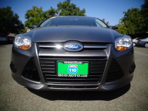 2014 FORD FOCUS gray 75998 miles Stock 2436 VIN 1FADP3F26EL118928