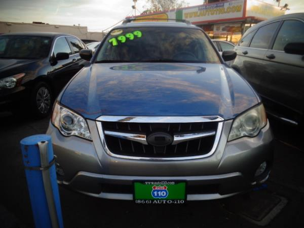 2008 SUBARU OUTBACK bluegrayblack 4 speed automatic 187450 miles Stock 2449 VIN 4S4BP61C48
