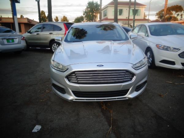 2013 FORD FUSION silver automatic 102749 miles Stock 2455 VIN 3FA6P0H70DR264046