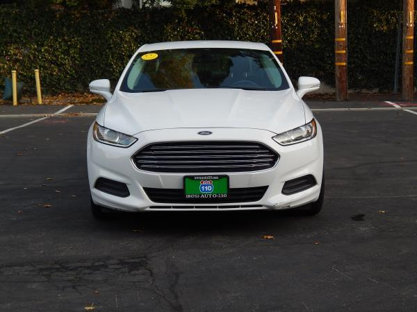 2013 FORD FUSION white 5 speed automatic 89050 miles Stock 2469 VIN 3FA6P0H76DR298220