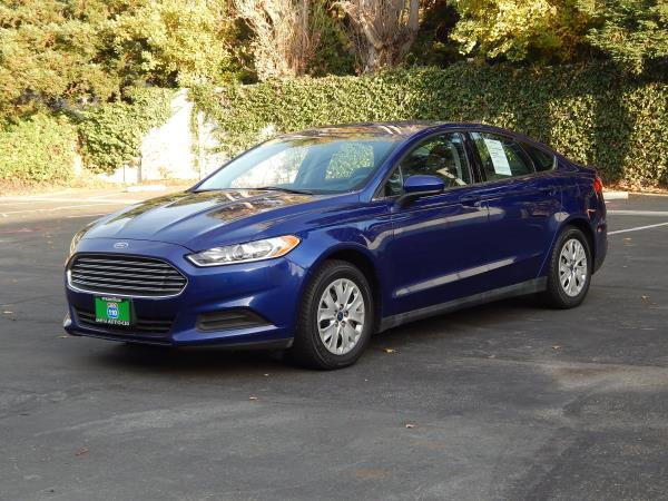 2014 FORD FUSION blueblack gray 5 speed automatic 91159 miles Stock 2472 VIN 3FA6P0G73ER131
